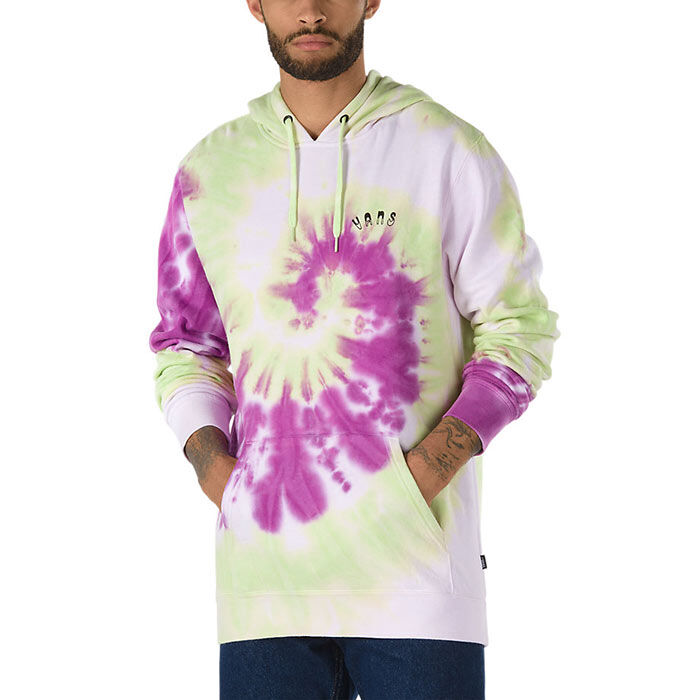 Men's Slow Fashion Tie Dye Pullover Hoodie