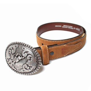Babies' Bull Rider Leather Belt