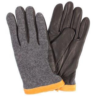Men's Deerskin Wool Tricot Glove