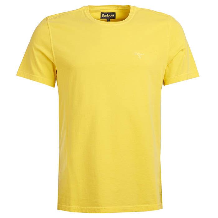 T-shirt en tissu teint pour hommes