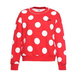 Women's Mickey's 90TH Dot Sweatshirt