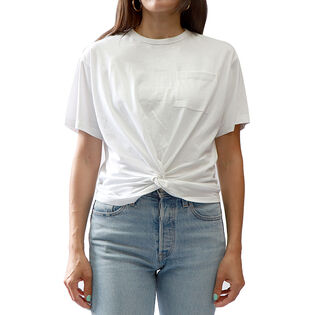 Women's Knot Front Pocket T-Shirt