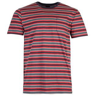 T-shirt Knollwood à rayures pour hommes