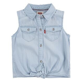 Chemise sans manches pour filles [4-6X]