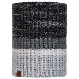Alina Grey Knitted & Polar Neck Warmer