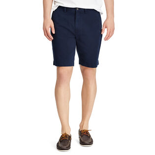 "Men's Classic Fit Flat-Front 9"" Chino Short"