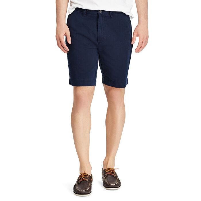 Men's Classic Fit Flat-Front 9