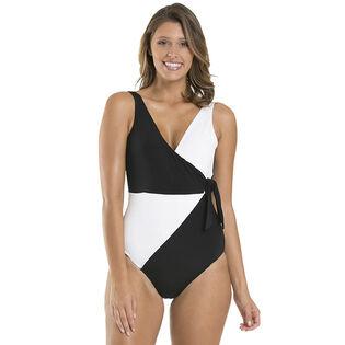 Women's Classique Wrap One-Piece Swimsuit