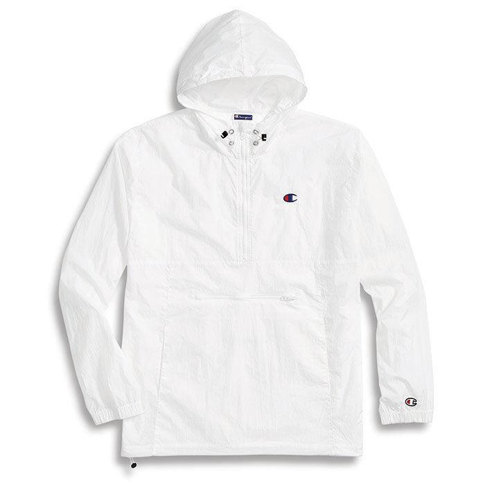 Men's Packable Nylon Anorak Jacket