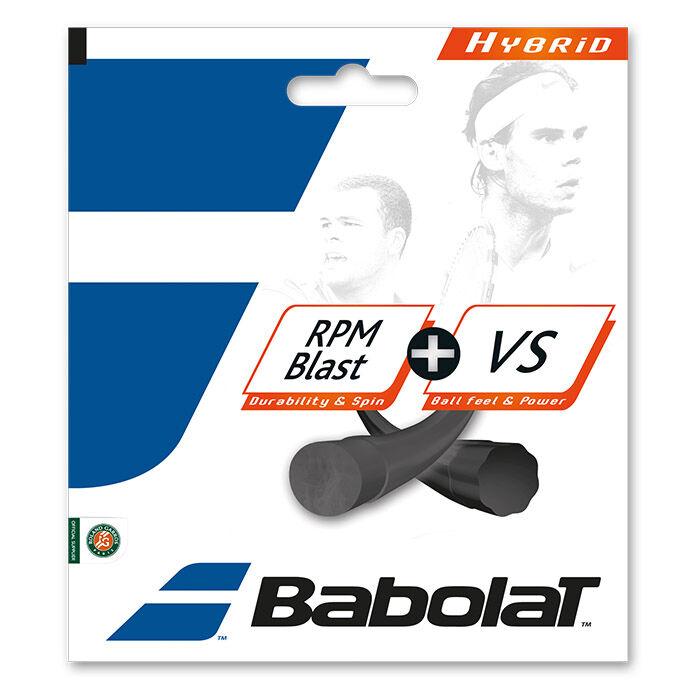 RPM Blast 17G + VS 16G Tennis String