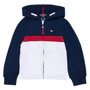 Junior Girls' [7-16] Colourblock Full-Zip Hoodie