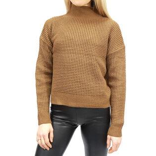 Women's Mock Neck Knit Sweater
