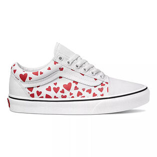 Women's Valentines Hearts Old Skool Shoe