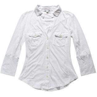 Women's Basic Slub Jersey Shirt