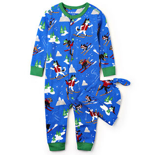 Baby Boys' [3-24M] Retro Ski Dog Coverall
