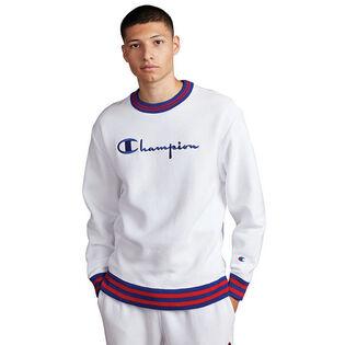 Men's Reverse Weave® Yarn Dye Crew Sweatshirt