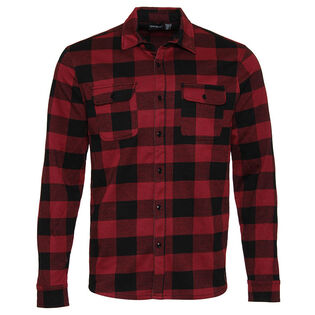 Men's Plaid Knit Shirt
