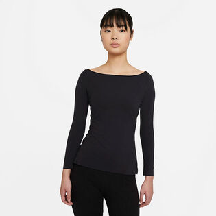 Women's Yoga Luxe Long Sleeve Top