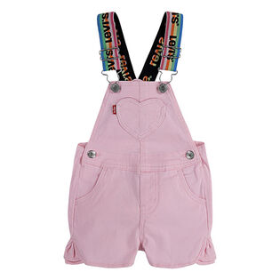 Baby Girls' [12-24M] Logo Denim Shortall