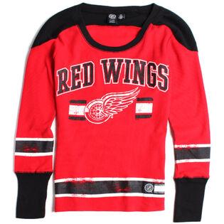 Women's Detroit Red Wings Waffle Knit Top