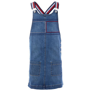 Girls' [7-16] Denim Overall Dress