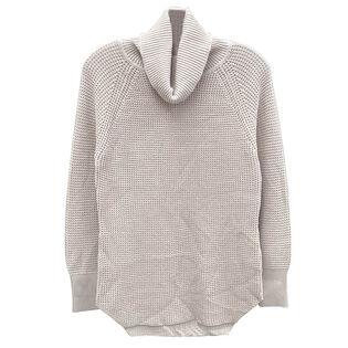 Women's Waffle Knit Turtleneck Sweater