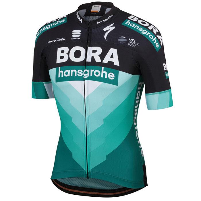Jersey Bora Hansgrohe 2019 Body<FONT>Fit</FONT> Team pour hommes
