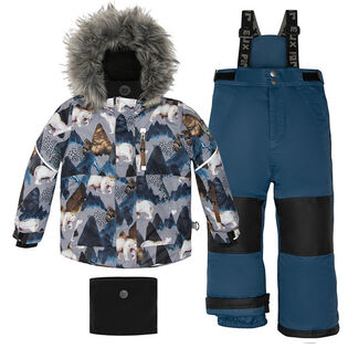 Boys' [2-6] Polar Bear Print Two-Piece Snowsuit