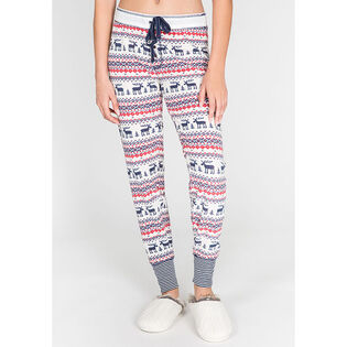 Women's Moose Fair Isle Banded Pant