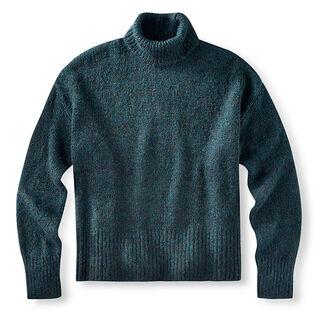 Women's Oversized Turtleneck Sweater