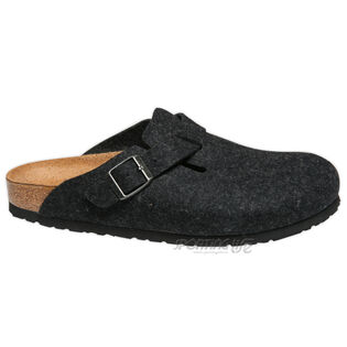 Women's Boston Wool Clogs (Anthracite)