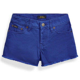 Short en denim en coton Polo pour filles juniors [7-16]
