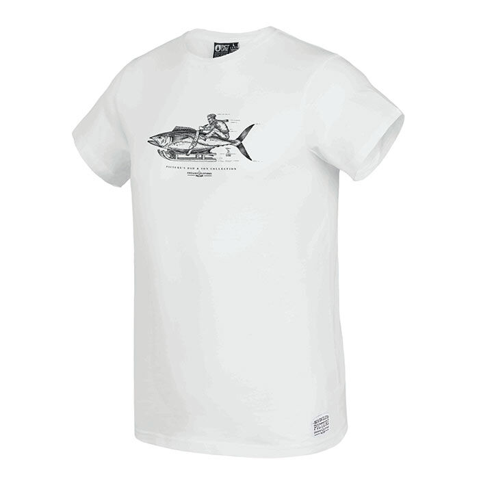 T-shirt Fisher pour hommes
