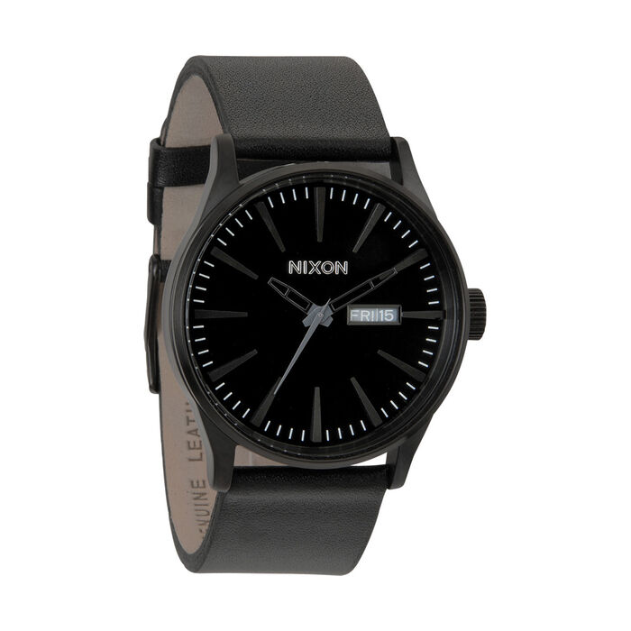 Sentry Leather Black Watch