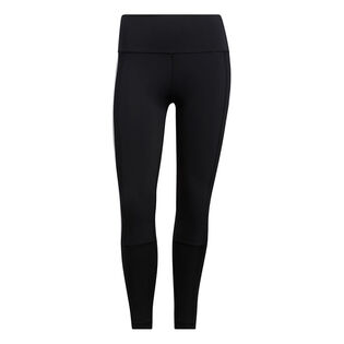 Women's Believe This 2.0 3-Stripes Ribbed 7/8 Tight