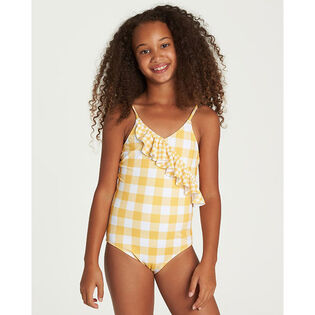 Girls' [4-6] So Golden One-Piece Swimsuit