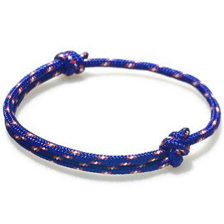 Coral Nautical Rope Bracelet