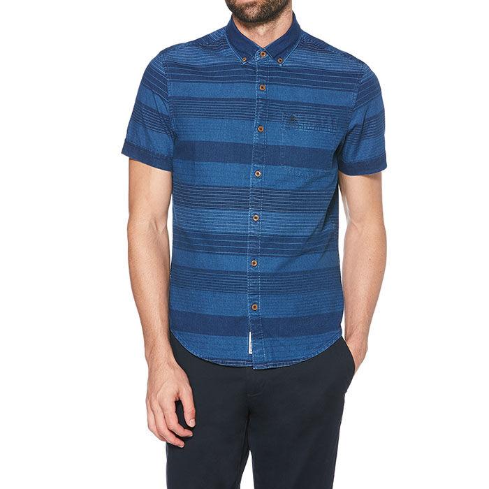 Chemise rayée pour hommes