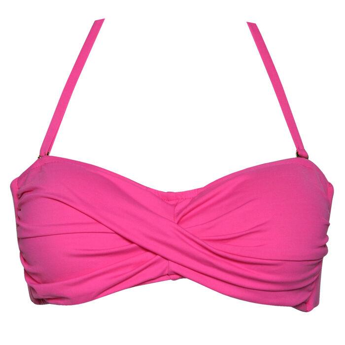 Haut de bikini bandeau torsadé pour femmes