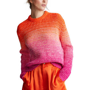 Women's Ombre Wool-Blend Sweater