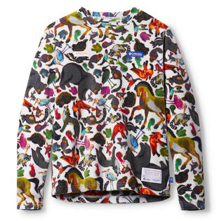 Men's Printed Fleece Top