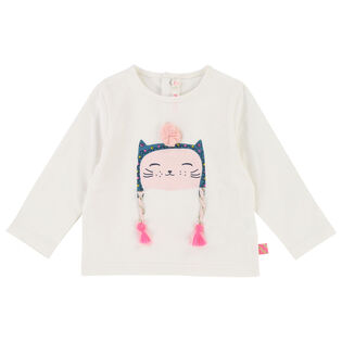 Baby Girls' [12-24M] Cat Top