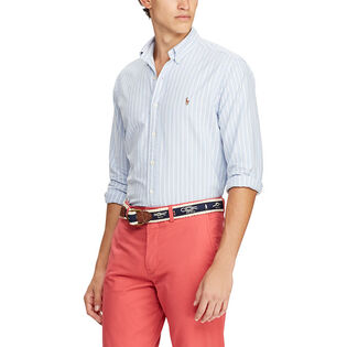 Men's Classic Fit Striped Shirt