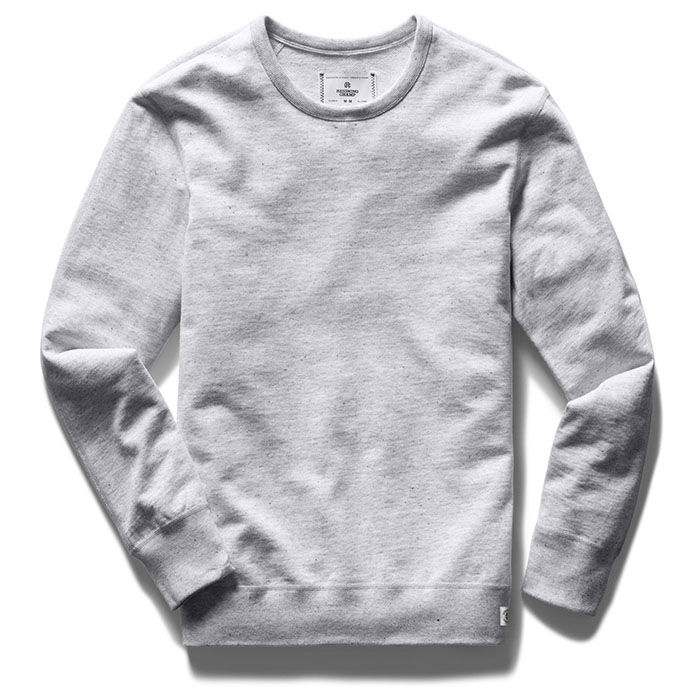 Men's Lightweight Terry Crew Sweatshirt