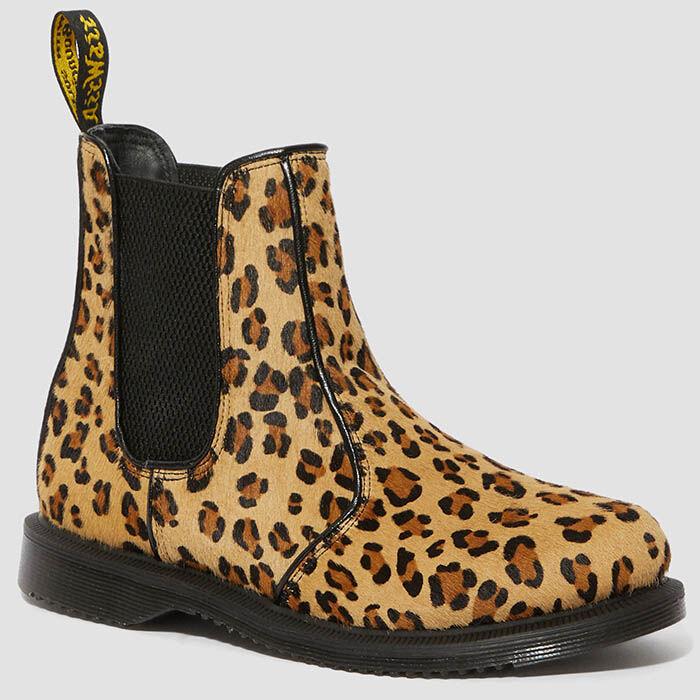 Bottillons motif léopard Flora pour femmes