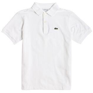 Junior Boys' [10-16] Short Sleeve Classic Pique Polo Shirt