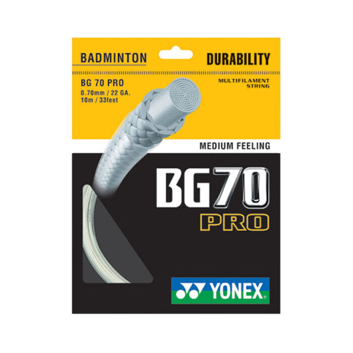 Cordage de raquette de badminton BG70 Pro