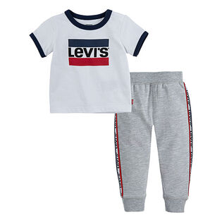 Boys' [2-4T] Tee + Jogger Two-Piece Set