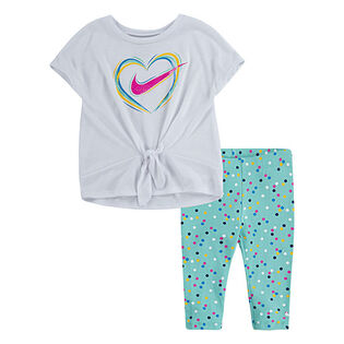 Baby Girls' [12-24M] Jersey Top + Legging Two-Piece Set