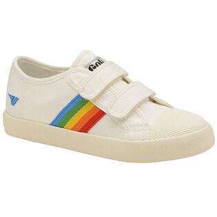 Kids' [9-13] Coaster Rainbow Velcro Sneaker